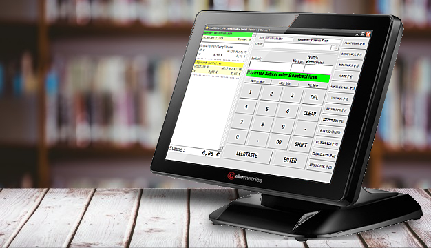 Kassensystem Bildschirm